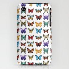 Butterflies (Papillons) iPhone (3g, 3gs) Slim Case
