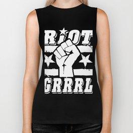 Riot Grrrl Biker Tank