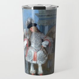 Antoine Watteau The French Comedians Travel Mug