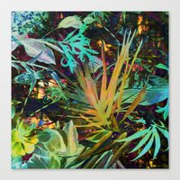 jungle Canvas Prints featuring jungle by clemm