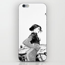 asc 654 - L'ascension du Mont Ventoux (The velociraptor revealed) iPhone Skin