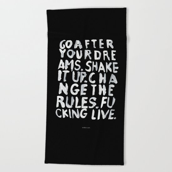 LIVE Beach Towel