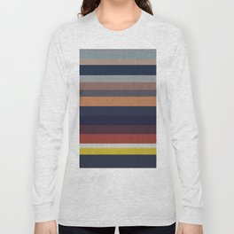 Ocean Sunset Canvas Long Sleeve T-shirt