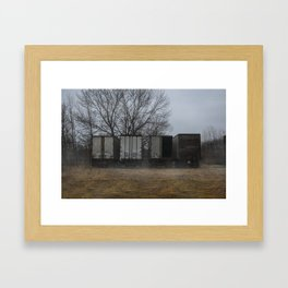 Trucks Framed Art Print