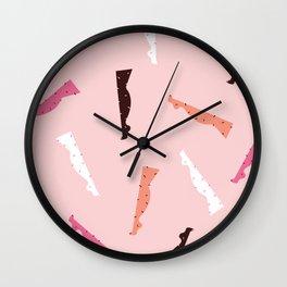 T'is The Season Wall Clock