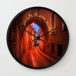 Olde Town Wall Clock