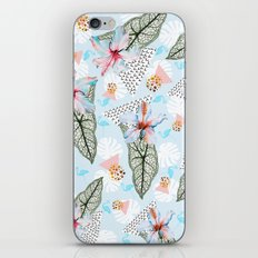 Pattern of tropical nature iPhone & iPod Skin