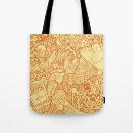 #MoleskineDaily_18 Tote Bag