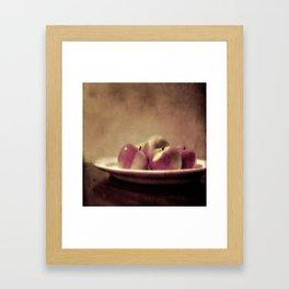 Lady Apples Framed Art Print