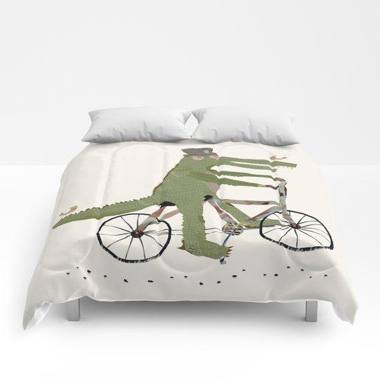 crocodile song Comforters