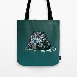 The Shape of Water_The Fishman Monster Tote Bag