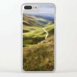 Hatcher Pass Clear iPhone Case