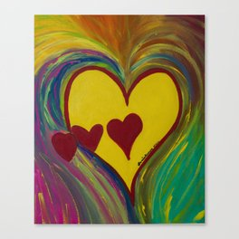 Heart Gallery Canvas Print