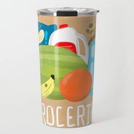 Groceries! Travel Mug