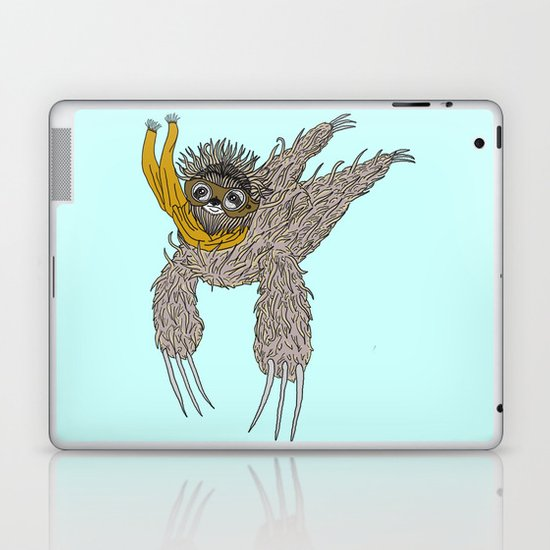 Impulsive Sloth Laptop & iPad Skin