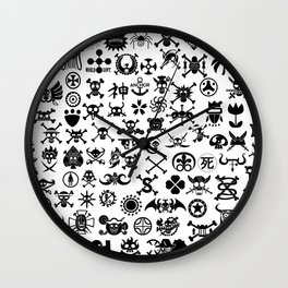 One Piece Jolly Roger Wall Clock