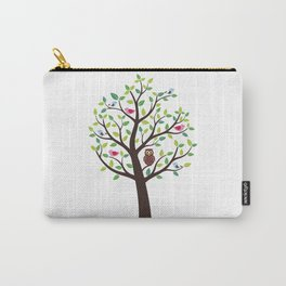 The bird tree guardian Carry-All Pouch