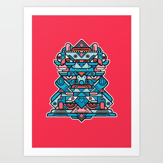 Totem 1 Art Print