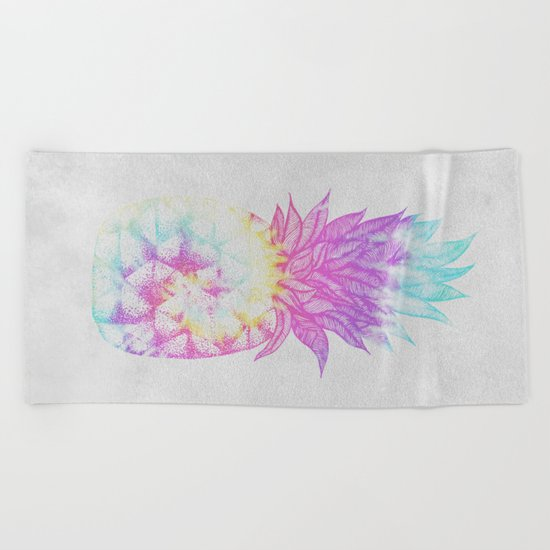 Pineapple Paradise Beach Towel