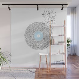 This record listen million people Wall Mural