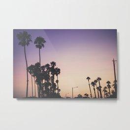 Santa Barbara Sunset Metal Print