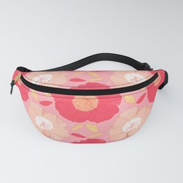 Anemones Red Fanny Pack