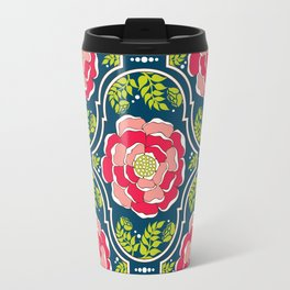 Yogita : India Floral Travel Mug