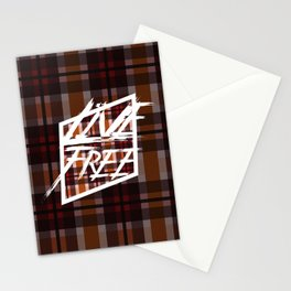 Live Free 4 Stationery Cards