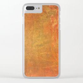 Abstract Oil Clear iPhone Case