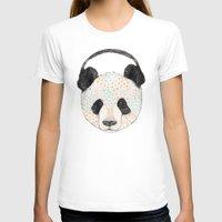 health T-shirts featuring Polkadot Panda by Sandra Dieckmann