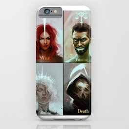 Four Horsemen of the Apocalypse iPhone Case