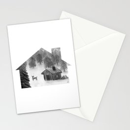 Comfort My Soul B&W Stationery Cards