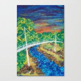 Liberty Bridge 2018 Canvas Print