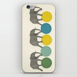 Travelling Elephants iPhone Skin