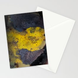 Abstract  metallic Stationery Cards