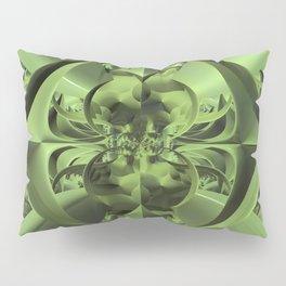 Cool Green of Summer Pillow Sham