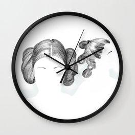 Star Women Warriors Wall Clock