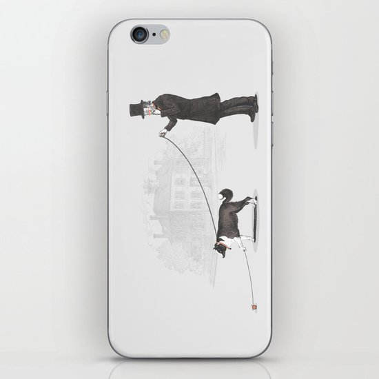 Walking the Dog  iPhone & iPod Skin