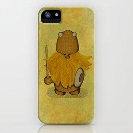 Hirsute Viking Homunculus iPhone Case