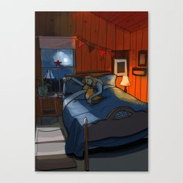 dark November Canvas Print