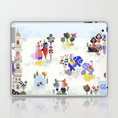 Indian miniature interpreted Laptop & iPad Skin