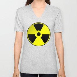 Nuclear Symbol Unisex V-Neck