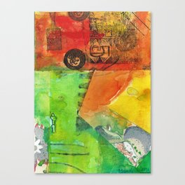 A color-washed life 5 Canvas Print