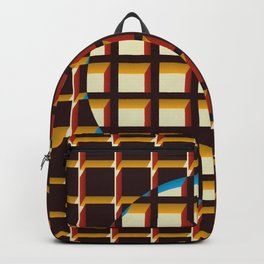 Blue Exclusion Backpack
