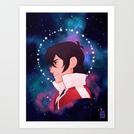 The Red Paladin - Keith Art Print