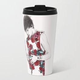 Floral Louis Travel Mug