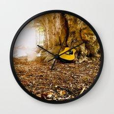Nature & It's guitar Wall Clock