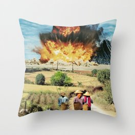 Reap what you sow Throw Pillow