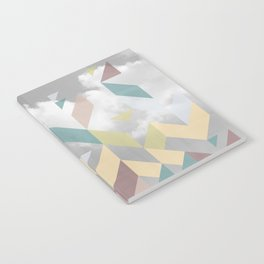 Colorful city Notebook