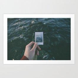 Nostalgie Un / Polaroid Art Print